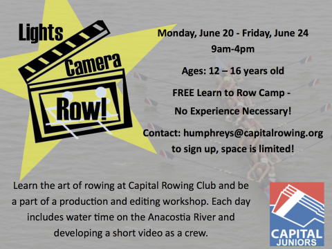 CRC Juniors Rowing Camp Flier_Full Page (1)